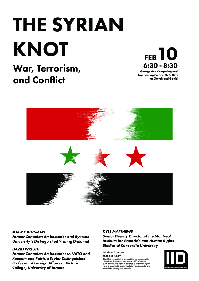 The Syrian Knot – War Terrorism and Conflict, Feb. 10, 2016