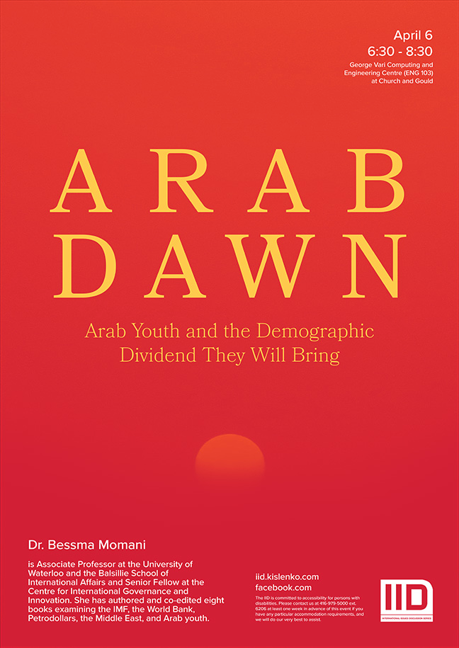 Arab Dawn: Arab Youth and the Economic Dividend They Will Bring—April 6, 2016
