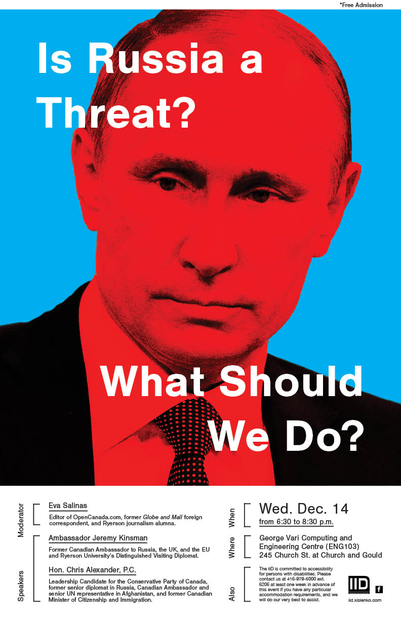 Is Russia A Threat? What Should We Do? — Wednesday, December 14, 2016