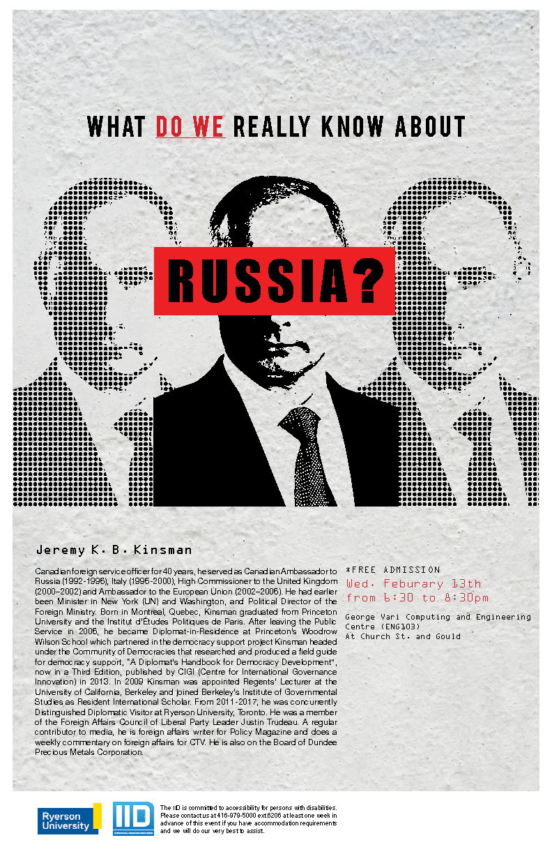 What do we really know about Russia? – Wednesday, February 13, 2019.